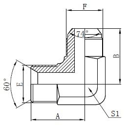 Гідравлічні адаптери BSP Малювання