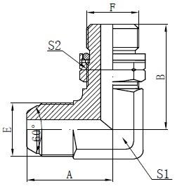 Опорне кільце BSP Регульований кріплення шпильки