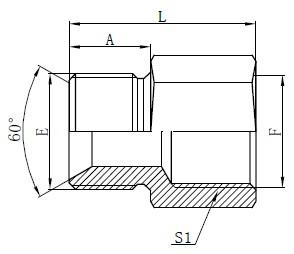 Британські стандартні адаптери для шлангів