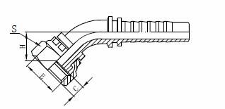 R1AT Збірка гідравлічних шлангів