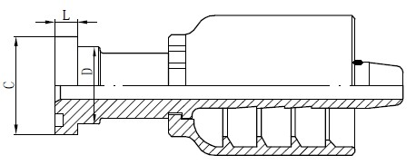 Матеріал роз'єму SS трубки